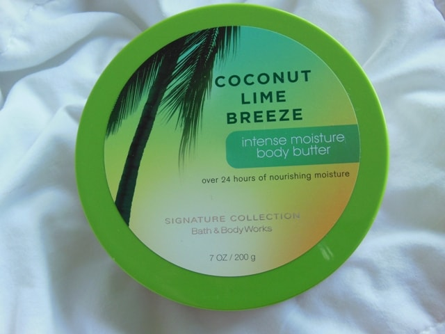 Bath and Body Works Coconut Lime Breeze Body Butter