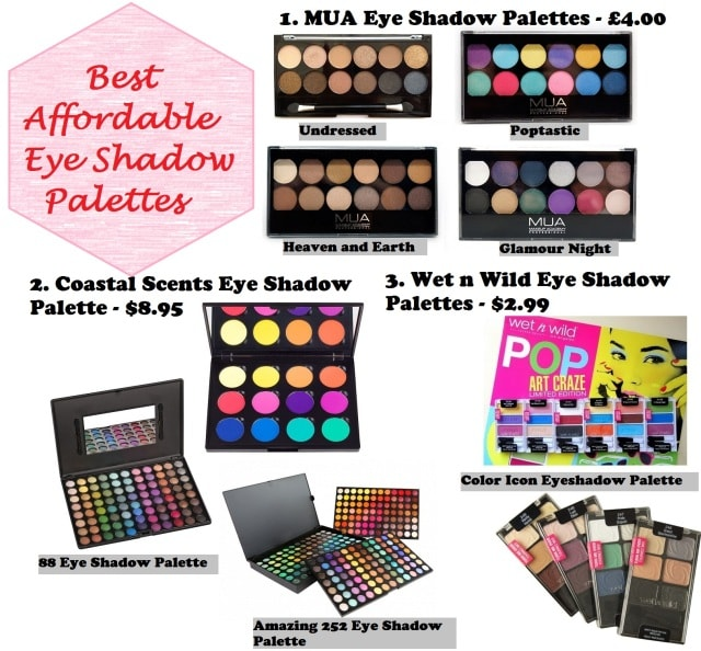 Best Affordable Eye Shadow Palette