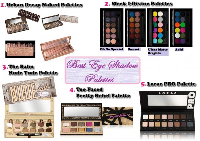 Best Eye Shadow Palettes