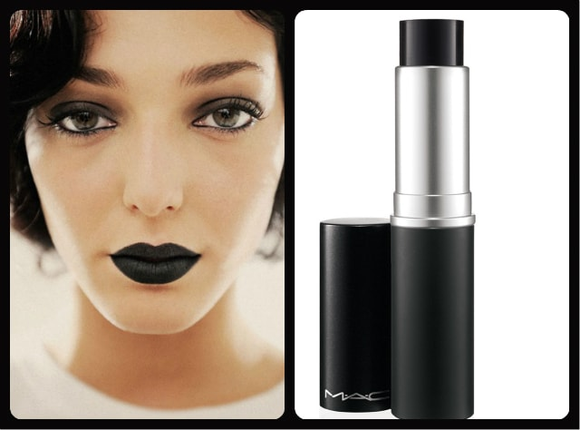 Black Lipstick - MAC Mattene Midnight Media Lipstick