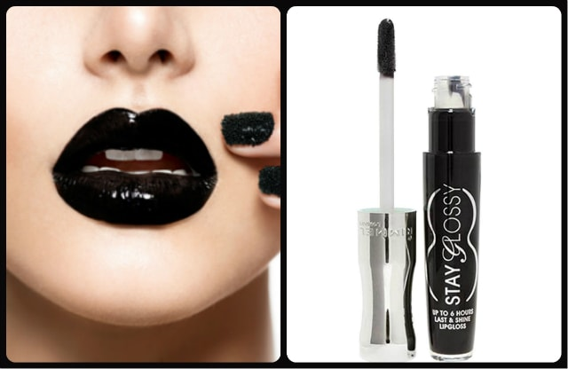 Black Lipstick - Rimmel Stay Glossy Black Diva Lip Gloss