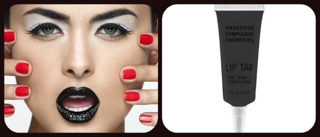 Black Liptick - Obsessive Compulsive Cosmetics Lip tar Tarred Lipstick