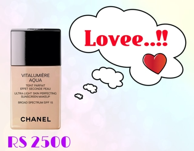 Bridal Beauty - Chanel Vitalumiere Aqua Foundation