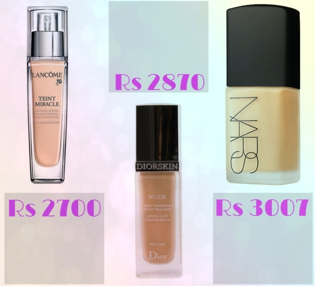Bridal Beauty - Lancome Teint Miracle, Christian Dior Diorskin Nude Hydrating Makeup and Nars Sheer Matte Foundation