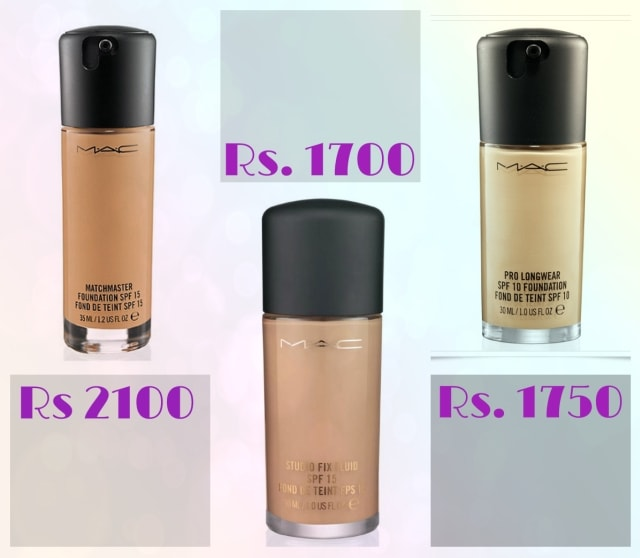 Bridal Beauty- MAC Matchmaster, Prolongwear, Studio Fix Fluid plus Foundation