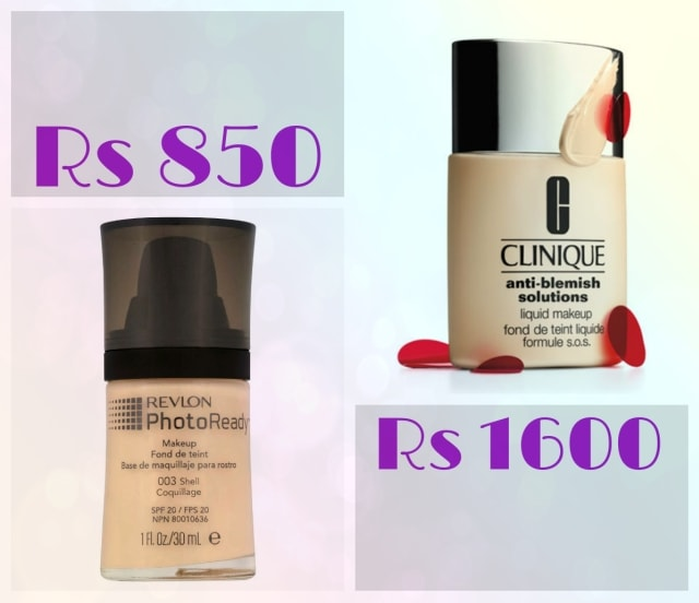 Bridal Beauty - Revlon Photo Ready and Clinique Anti-Blemish Foundation