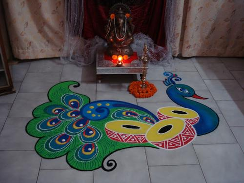 new year rangoli designs