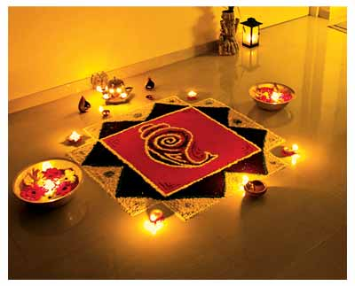 Favorite Rangoli Design 5