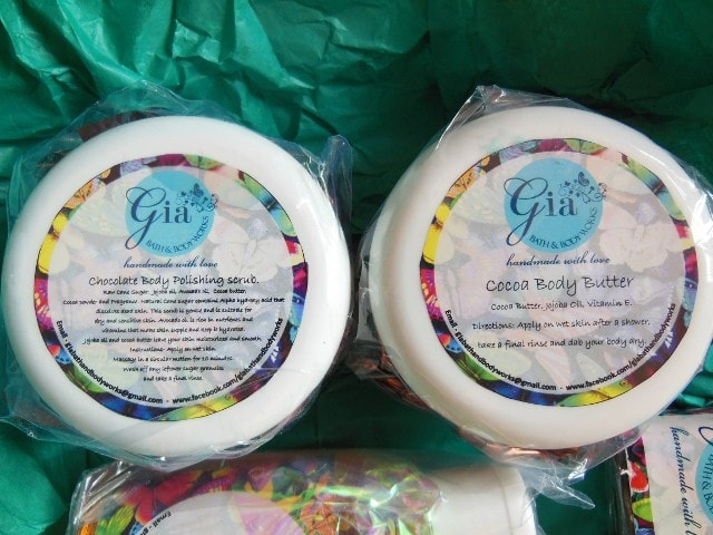 Gia Bath And Body Works Cocoa Body Butter and Scrub Haul