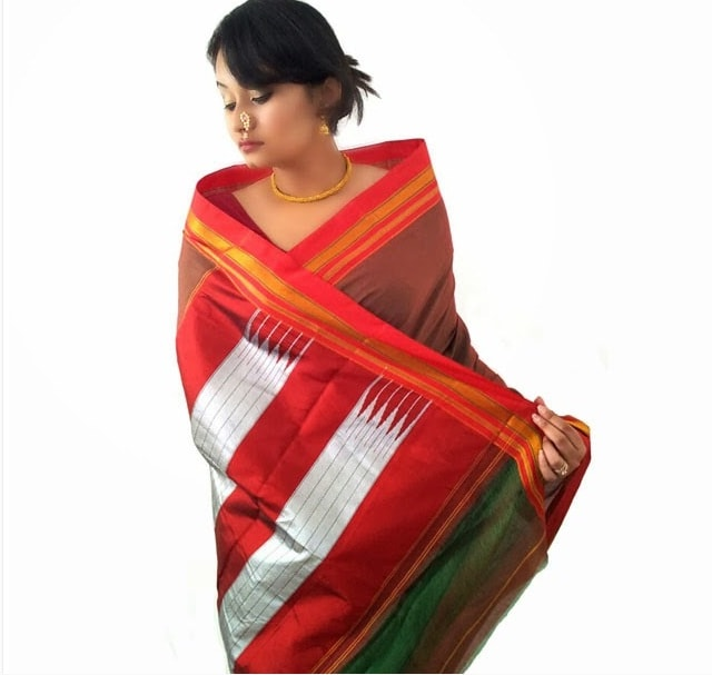 Giveaway Prize- Handlooms of India Saree