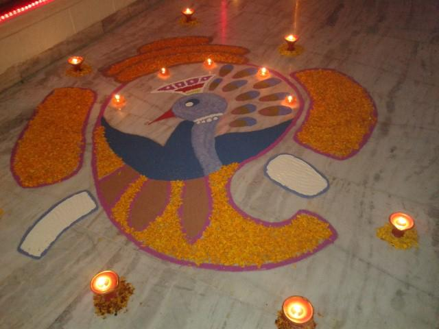 My second Rangoli