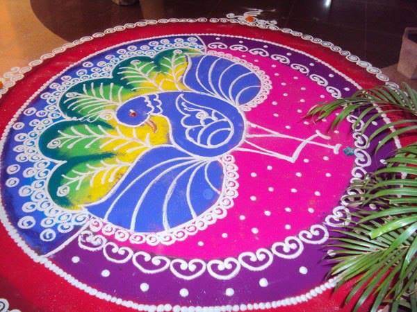 Rangoli Design 1