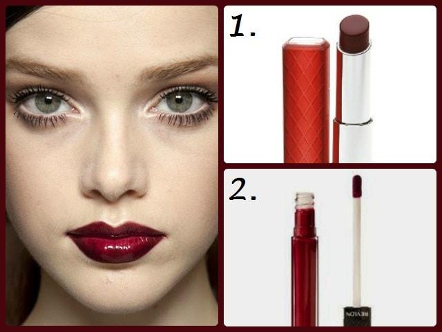 Best Oxblood Lipsticks - Sheer Wine Red Lipglosses