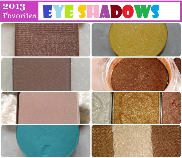 Best of 2013 - Eye Shadows