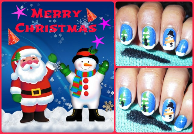 Christmas Inspired Nail Art