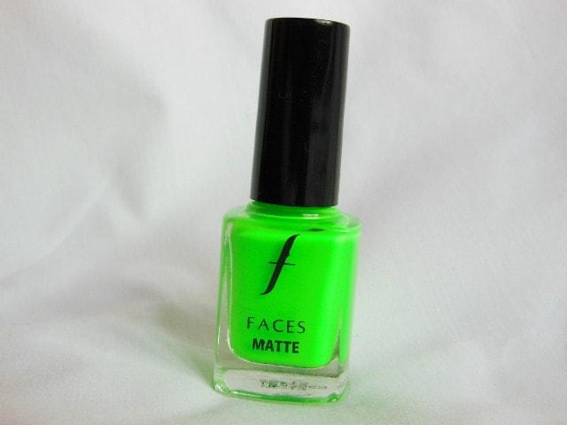 Faces Neon Matte Greed 73 Nail Enamel