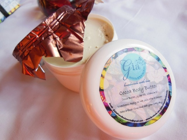 Gia Bath & Body Works Cocoa Body Butter Review