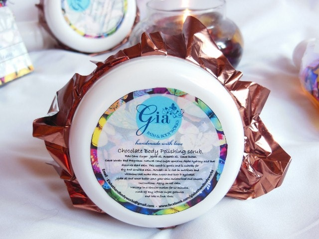 Gia Bath and Body  Works - Chocolate Body Polishing Scrub