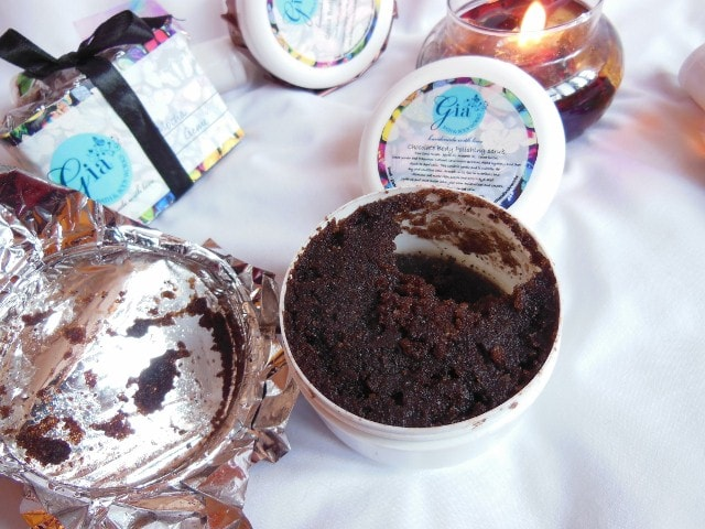 Gia Bath and Body  Works Chocolate Body Scrub Review