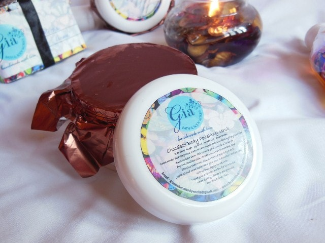 Gia Bath and Body  Works Chocolate Body Scrub