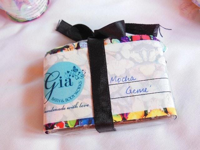Gia Bath and Body Works Mocha Creme Soap