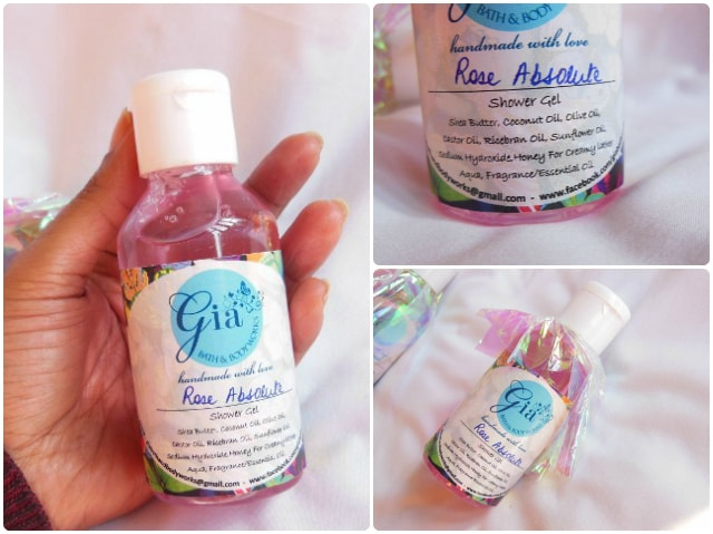 Gia Bath and Body Works Shower Gel - Rose Absolut Review