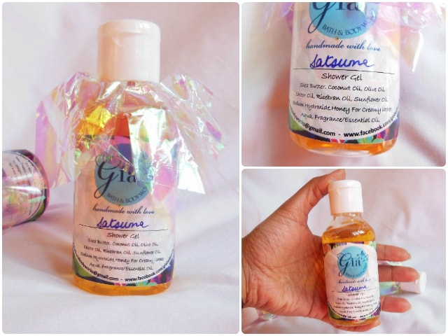Gia Bath and Body Works Shower Gel - Satsuma Review