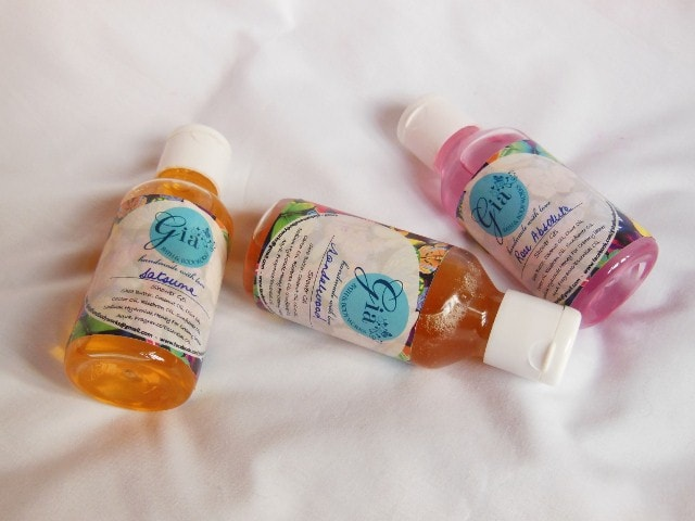 Gia Bath and Body Works Shower Gels Review