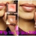 INGLOT Lip Duo Lip Gloss Vanilla Lip Swatch 1