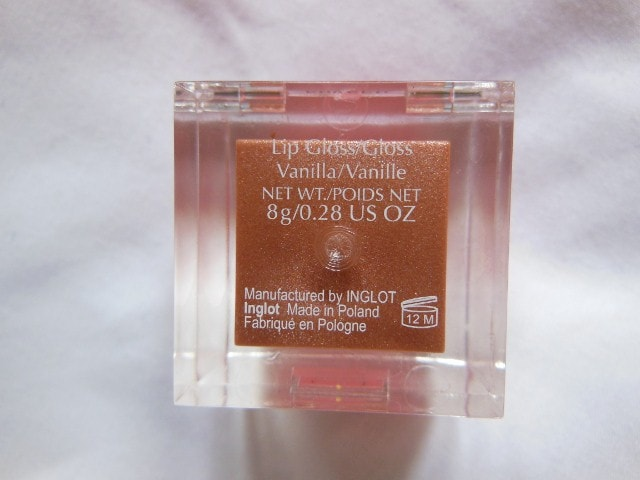 INGLOT Lip Gloss Duo #44 Vanilla 2