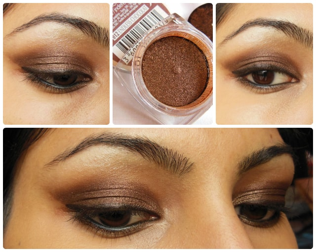L'Oreal Paris Infallible Eye Shadow Endless Chocolat EOTD