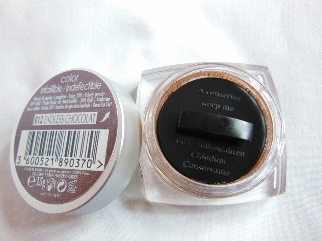 L'Oreal Paris Infallible Mono  Eye Shadow Endless Chocolate