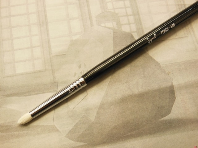 SIGMA Eye Makeup E30 Pencil Brush Review