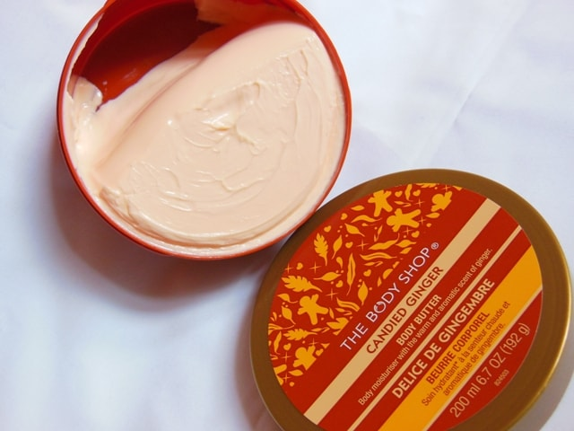 TBS Candid Ginger Body Butter Review
