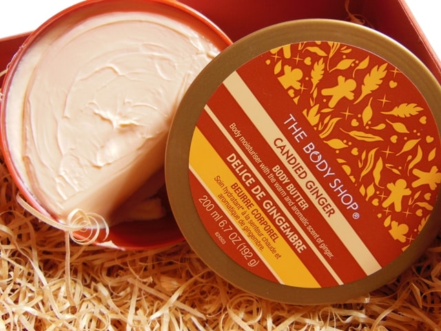 The Body Shop Ginger Body Butter