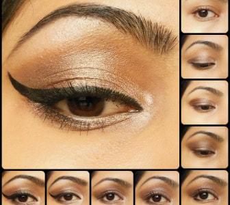Eye Makeup Tutorial - Sonam Inspired 1