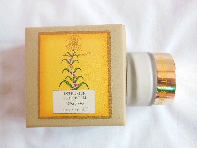 Forest Essentials Eye Cream with Anise