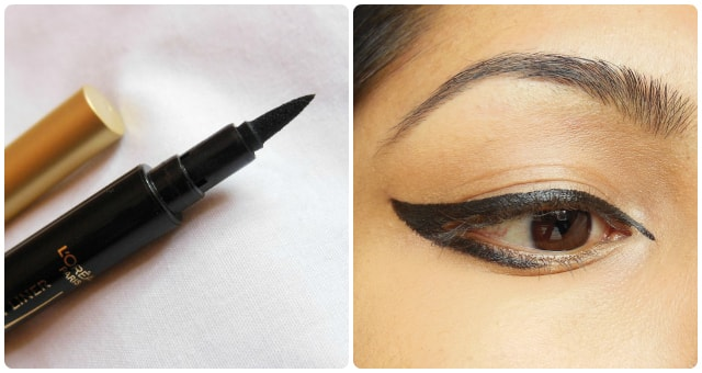 Graphic Eye Liner Look - L'Oreal Felt Tip Eye Liner