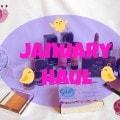 January Makeup Haul 2014