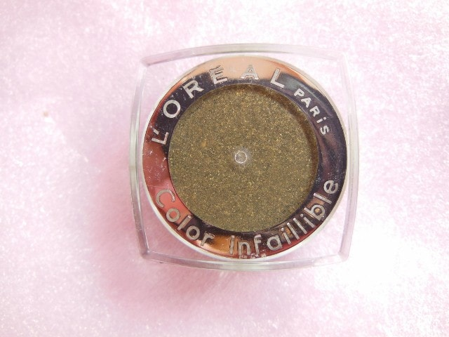 L'Oreal Infallible Cosmic Black Eye Shadow Review