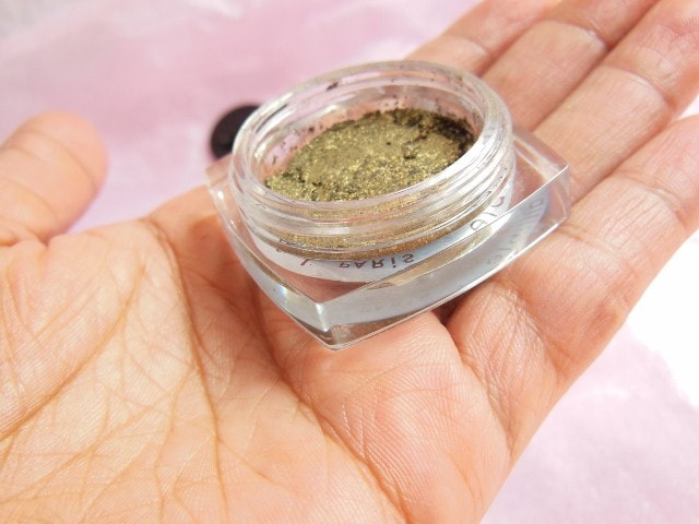 L'Oreal Infallible Eye Shadow Cosmic Black Review