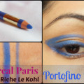 L'Oreal Paris Color Riche Le Kohl - Portofino Blue Look