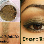 L'Oreal Paris Infallible Eye Shadow in Cosmic Black Look