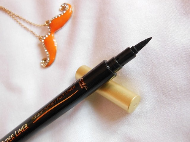 L'Oreal Paris Super Liner Felt Tip Eye Liner Black Review