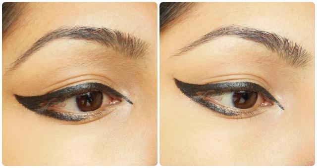 L'Oreal Super Liner Felt Tip Eye Liner Black EOTD