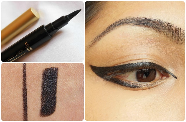 L'Oreal Super Liner Felt Tip Eye Liner Black Look