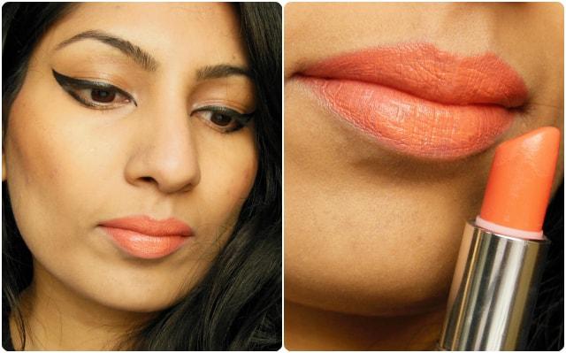 MUA Lipstick Nector FOTD