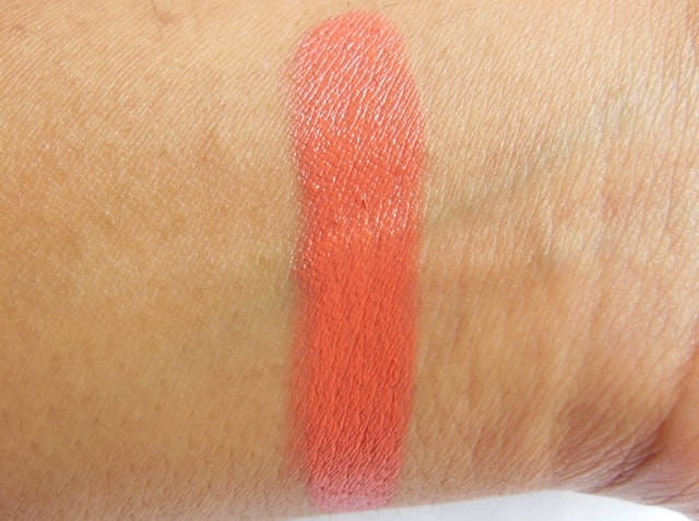 MUA Lipstick in Nector Swatch