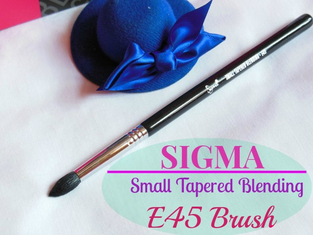 SIGMA E45 Tapered Blending Brush
