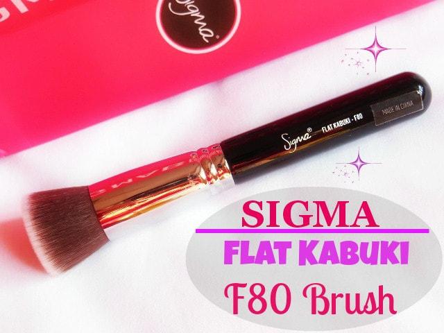 SIGMA Makeup Kabuki F80 Brush